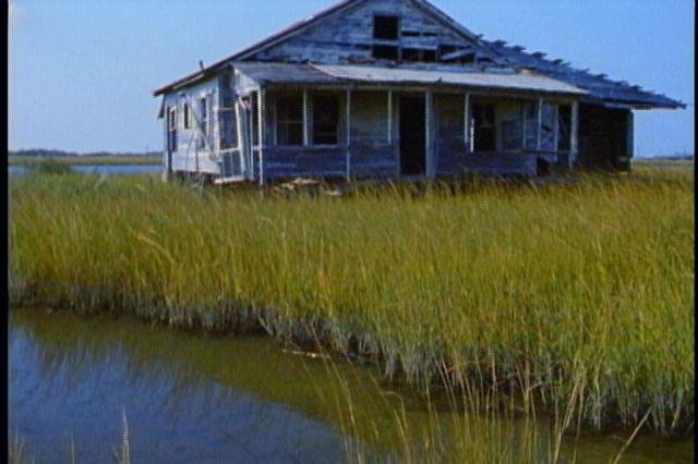 Film footage--Leeville 2003 old House